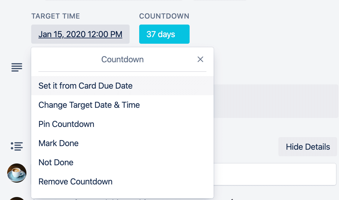 countdown-button-options